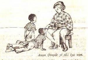 Yoruba greeting