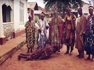 Yoruba greeting male